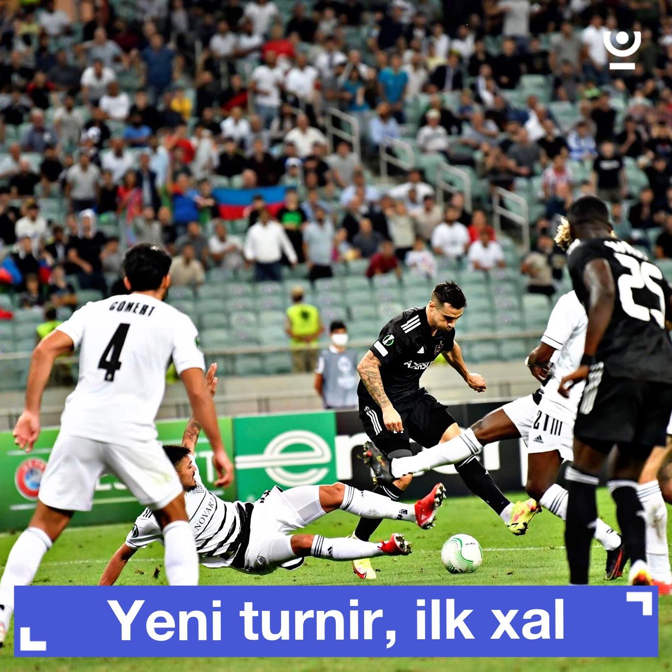 """""""Qarabağ"""" ilk xalını qazandı"""