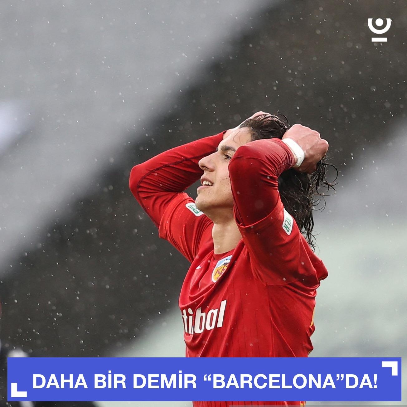 """Türkiyəli futbolçu """"Barcelona""""da!"""