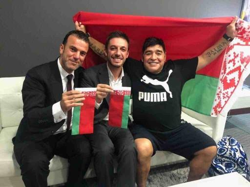 Maradona Belarus klubunda