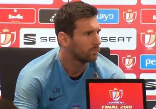 Messi 2015-ci ildən bəri ilk dəfə