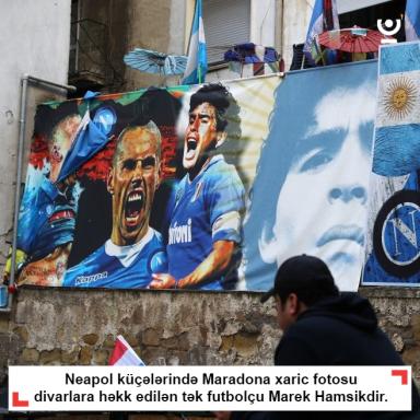 Neapolluların Maradona xaric sevgi göstərdiyi tək futbolçu
